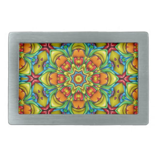 Sunburst Colorful Belt Buckle