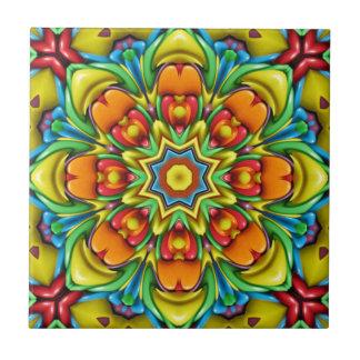 Sunburst Colorful Ceramic Tiles
