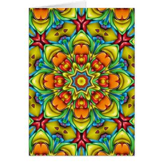 Sunburst Colorful Greeting Cards & Envelopes