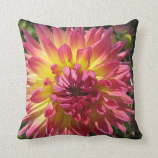 Sunburst dahlia American MoJo Pillows