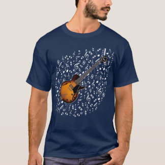 Sunburst Electric Guitar Shirt