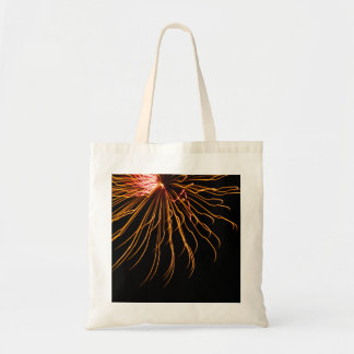 Sunburst Fireworks Abstract Photography Art Tote