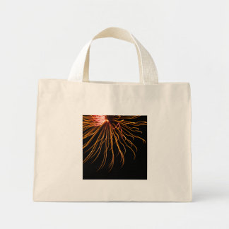 Sunburst Fireworks Abstract Photography Tote