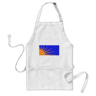 Sunburst Flag Adult Apron