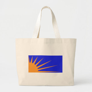 Sunburst Flag Tote Bag