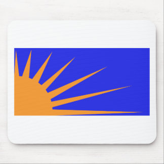 Sunburst Flag Mouse Pad
