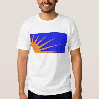 Sunburst Flag Tee Shirts