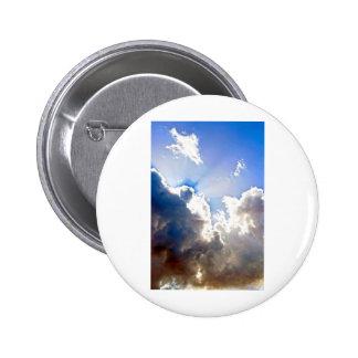 Sunburst from Dark Clouds Button