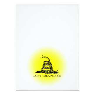 Sunburst Gadsden Flag Card