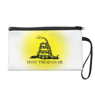 Sunburst Gadsden Flag Wristlet Purse