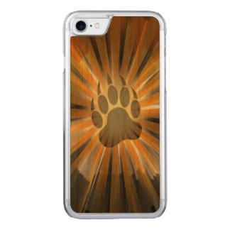 Sunburst Gay Bear Pride Flag Bear Paw Carved iPhone 7 Case