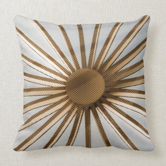 Sunburst Grade A 20X20 Cotton Throw Pillow