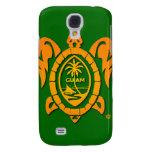 Sunburst Guam Seal IPhone 3G Case Samsung Galaxy S4 Case
