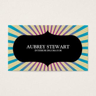 Sunburst Japanese Style Business Card
