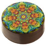 Sunburst Kaleidoscope    Dipped Oreo® Cookies