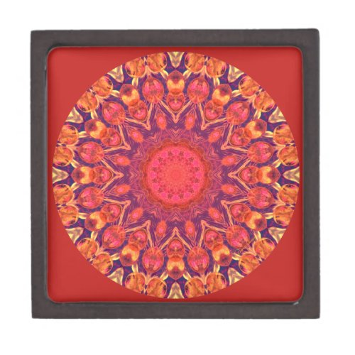 Sunburst Mandala - Abstract Circle Dance Gift Box