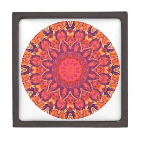 Sunburst Mandala - Abstract Circle Dance Gift Box