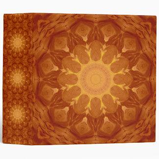 Sunburst Mandala Binder