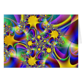 Sunburst Notecard