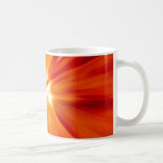 Sunburst original Red and orange Classic White Coffee Mug