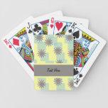 Sunburst Pattern Playing Cards