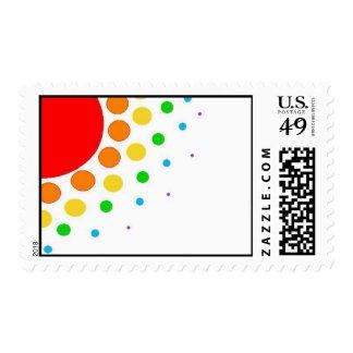 Sunburst Postage Stamps