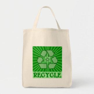 SUNBURST RECYCLE Art Tshirts, Mugs, Totes