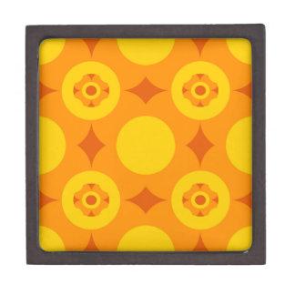 Sunburst Repeatable Circle Pattern Jewelry Box