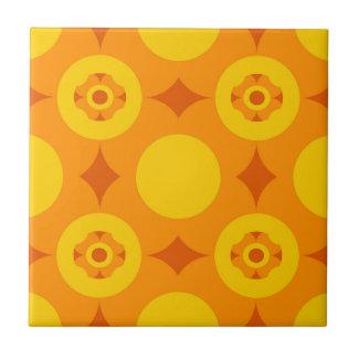 Sunburst Repeatable Circle Pattern Tile
