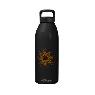 Sunburst Sun Rays Water Bottle