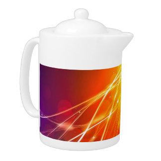 Sunburst Tea Pot