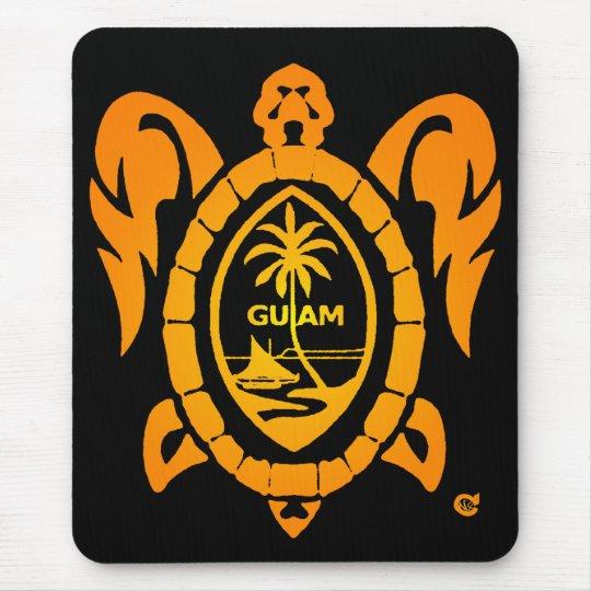 sunburst turtle mouse pad
