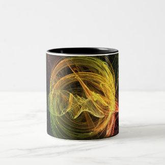 sunburst Two-Tone coffee mug