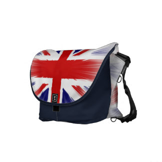 Sunburst UK Flag The Union Jack Courier Bags