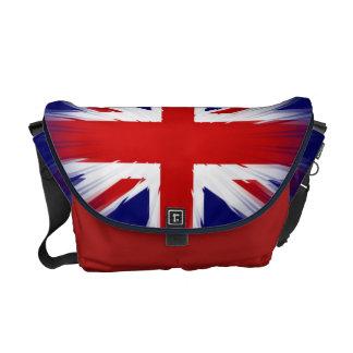 Sunburst UK Flag The Union Jack Courier Bag