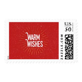 Sunburst Warm Wishes Postage