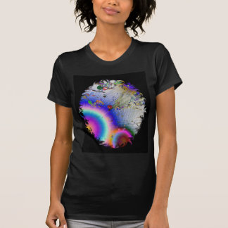 Sunburst with Oval Frame Shirt
