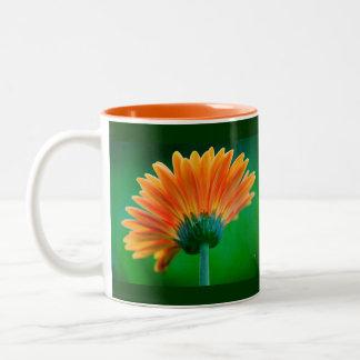 Sunburst Zinnia Mug by Lois Bryan