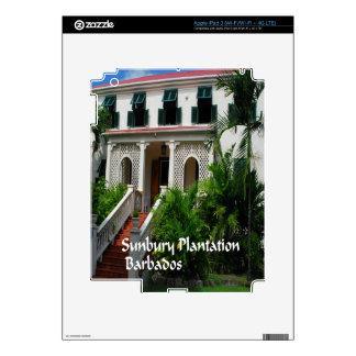 Sunbury Plantation in Barbados Decals For iPad 3