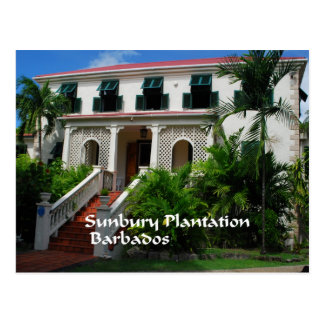 Sunbury Plantation in Barbados Postcard