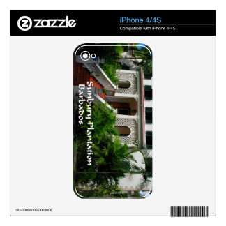Sunbury Plantation in Barbados Skins For The iPhone 4