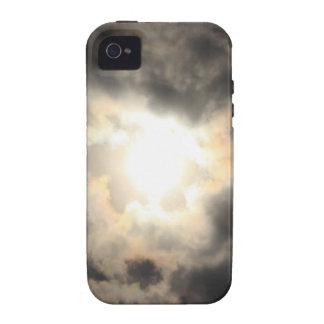 SunClouds JPG Case-Mate iPhone 4 Carcasas