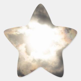 SunClouds.JPG Star Sticker