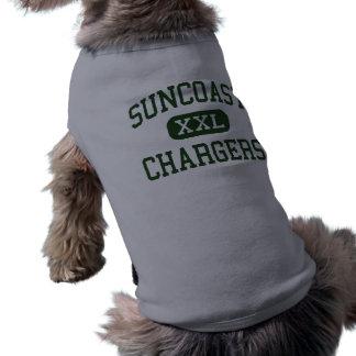 suncoast - chargers - community - Riviera Beach Dog Tee Shirt