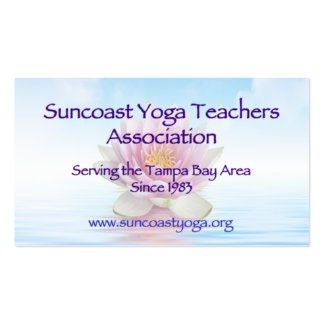 Suncoast Yoga Teachers Association Double-Sided Standard Business Cards (Pack Of 100)
