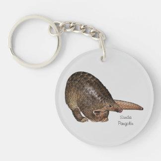 Sunda Pangolin Acrylic Key Chain