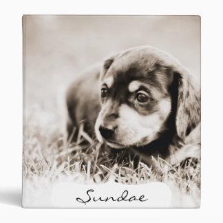 Sundae 4 wks-Lovebug Doxies Keepsake Album Binder