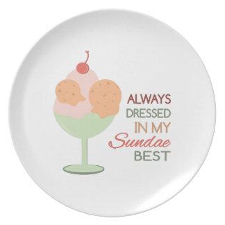 Sundae Best Party Plates