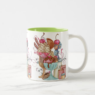 Sundae Chef Two-Tone Coffee Mug