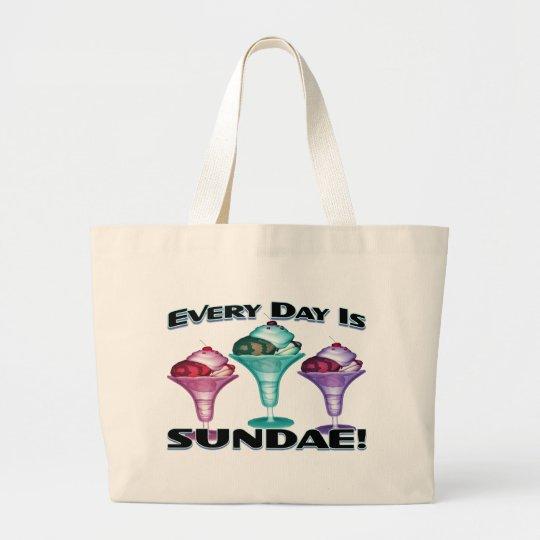 Sundae Everyday Large Tote Bag